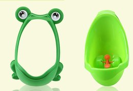 $enCountryForm.capitalKeyWord Canada - Free Shipping Cute Frog Boys Toddler Hang on wall Pee Training Vertical Urinal Toilet Separable Easy Wash Independence Focus Training