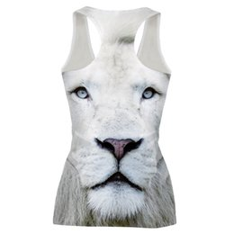 $enCountryForm.capitalKeyWord UK - Wholesale- New Slim Animal Tiger 3D Vest Sleeveless Top Bustier Summer Tight Sexy Tree Tees Vest T Shirts Women Tops Tank