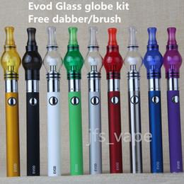Globe Glasses Australia - Top Fashion Single Electronic Ecigarette Wax for Vaporizer Starter Kits Evod Ecig Dab Oil Globe Glass Vaporizers China Direct