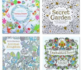 New Arrivals For Wholesalers Adult Colouring Books