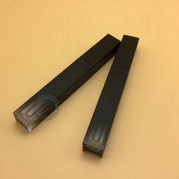 All'ingrosso-30 PCS tubo vuoto nero lucido lip gloss 5ML Lip gloss contenitore trucco olio lip del contenitore tubo di plastica in Offerta