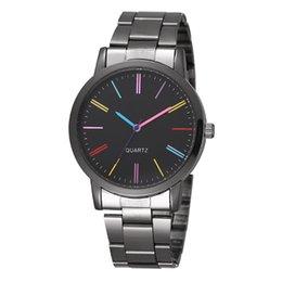 $enCountryForm.capitalKeyWord Australia - New Arrival Fashion Watch Gift Wholesale 3 Colors Luxury Alloy Steel Watchband Quartz Wristwatch For Women Men