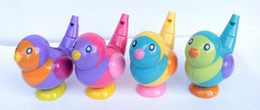 $enCountryForm.capitalKeyWord Australia - Wholesale- 1pcs Random Color 2-in-1 whistle baby bath collection bath toy bird water whistles hot selling gift