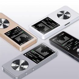 read speaker NZ - Wholesale- Original 8GB HiFi MP3 Player with Speaker Metal APE FLAC WAV High Sound Quality Entry-level Lossless Music Player with FM