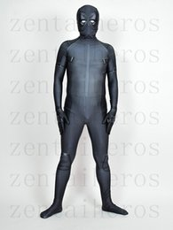 Costume Spandex Gris Pas Cher-Costume de Deadpool de X-Force Costume de Cosplay de partie de Deadpool d'Halloween gris