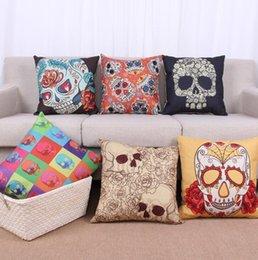 Sofa Cushion Covers Nz: Skull Cushion Covers NZ   Buy New Skull Cushion Covers Online from    ,