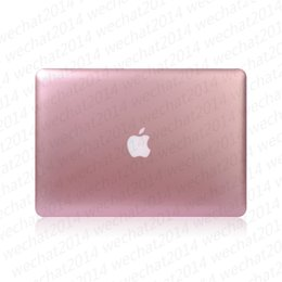 "laptop air dhl 2019 - 100PCS Fashion Metal Rubberized Case Cover for Apple Macbook Air Pro 11'' 12'' 13"" 15"" fre"