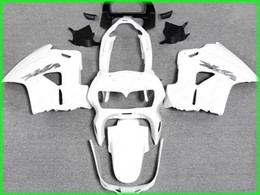 Chinese  Free ship all white Fairing kit for 1998 1999 2000 2001 Honda VFR800RR interceptor VFR800 VFR 800 98 01 manufacturers