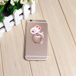 Mobile Images NZ - Hot sale wholesale 10pcs Christmas gift image 360 degree rotary ring lazy mobile phone holder Apply to all mobile phones free shipping 052