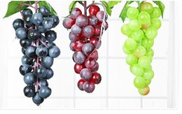$enCountryForm.capitalKeyWord Canada - Bunch Lifelike Artificial Grapes Plastic Fake Decorative Fruit Food Home Decor 2 Colors Drop Shipping MYY