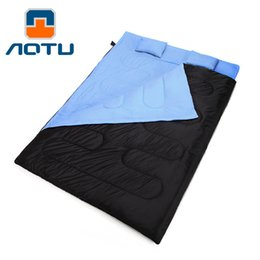 $enCountryForm.capitalKeyWord Canada - AOTU Outdoor Camping Hiking Double Sleeping Bag with 2 Pillows Autumn Winter Thermal Double Sleeping Bag Best Price 177