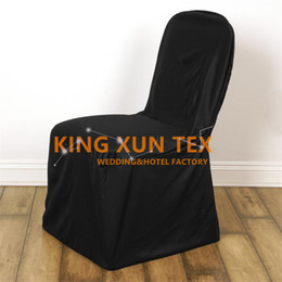 Wholesale Chairs For Events Canada - High Thick Lycra Spandex Chair Cover No Pocket For Wedding And Event Banquet Decoration Free Shipping