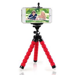 Venta caliente Soporte para Teléfono de Coche Flexible Pulpo Trípode Soporte Selfie Stand Mount Monopod Accesorios de Estilo Para Teléfono Móvil inteligente