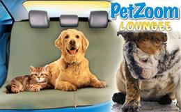 Motor Bicycles Australia - Wholesale TV Product Petzoom Waterproof Pet Mat for Car Dog Mat Motor Car Back Seat Pet Mat Free Shipping