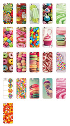 $enCountryForm.capitalKeyWord UK - Gelato Ice Cream Cone Donuts Corn Chocolate Gummy Bear Canes Christmas Popsicle Phone Case For iPhone 6Plus 7Plus 7 6S 5S 4S