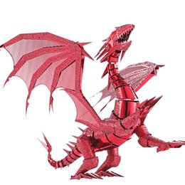 $enCountryForm.capitalKeyWord Canada - 3D Puzzle Dragon Laser Cut Models Jigsaw Toy FLAME Metal Puzzle Scale Model Kit Adult Kid Educational Toys