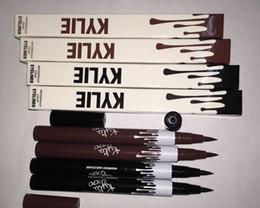 Matte eyeliner pens online shopping - Black Brown Liquid Eyeliner Long lasting Waterproof Eye Liner Pencil Pen Nice Makeup Cosmetic Tools