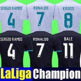 88c85e86d7e Cheap Thai quality 2018 Real madrid soccer Jerseys champions league 17 18 RONALDO  BALE SERGIO RAMOS ISCO MODRIC jersey ASENSIO camisetas