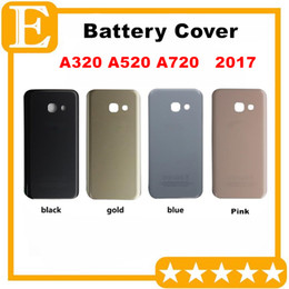 $enCountryForm.capitalKeyWord Canada - OEM New Back Battery Cover Door Housing + Adhesive For Samsung Galaxy A3 A320 2017 A5 A520 A7 A720 Rear Case Cover 30PCS