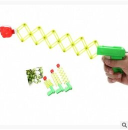 $enCountryForm.capitalKeyWord Australia - Hot Sale Stretch Scaling Fist Gun Magic Pistol Funny Toys Telescopic Boom Kids Prank Toys Plastic Gun Stretch Elastic Gun