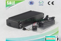 $enCountryForm.capitalKeyWord Canada - Electric Bicycle Battery Pack 48V 10Ah Rear Mount Black Type with 2A Charger, Li-Ion 48v Battery Pack