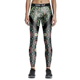Xl Womens Leggings Canada - Wholesale- New Womens Spandex Shiny Printed Fitness Full Length Pants Sporting Leggings Dance Quick Dry Plus Size Pants Elastic Trousers