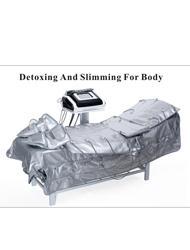 Toptan satış 3 1 kızılötesi ısıtma + EMS elektro stimulasyonu + Pressotherapy güzellik cihaz
