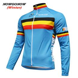 $enCountryForm.capitalKeyWord Canada - MEN winter 2017 belgium flag cycling jersey blue bike clothing wear pro racing riding MTB road ropa ciclismo NOWGONOW bicicleta long sleeve