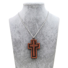 Chinese  Original New Vintage Gold Rotatable Female Cross Choker Necklace Women Jesus Crucifix Prayer Chain Necklace Men Christian Male Jewelry Gift manufacturers