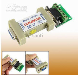 232 adapter Australia - RS485 to RS232 Adapter adaptor convertor converter rs-485 rs-232 Data cable Converter PTZ cctv