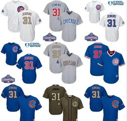 12a0d57f ... 1968 throwback Wholesale - Youthmen039s chicago cubs 31 Fergie Jenkins  kids bluegold white grey father039s days baseball jersey ...
