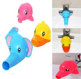 cartoon faucet extender for kid children kids hand washing in bathroom sink elephant dolphin duck bathroom accessories affordable kids bathroom