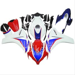 fairings for UK - 3 free gifts For Honda CBR1000RR 08 09 10 11 1000RR 2008 2009 2010 2011 ABS Plastic Injection Motorcycle Full Fairing Kit Blue white Red A51