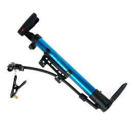 $enCountryForm.capitalKeyWord Canada - 33cm Mini High Pressure Aluminium Alloy Inflatable Pump Woods Valve Bike Portable Inflator Pumps With Fixer To Bicycle