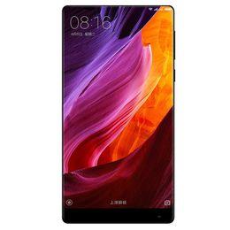 Téléphone portable d'origine Xiaomi Mi MIX Pro 4G LTE, 6 Go de RAM, 256 Go de ROM, Snapdragon 821, écran sans bord, plein de corps en céramique