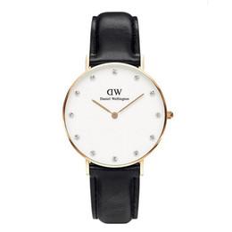 Water resistant sport Watches Women online shopping - NEW Fashion luxury brand quartz watch Casual Leather Women watches reloj masculino female Business Sports Wristwatch mm