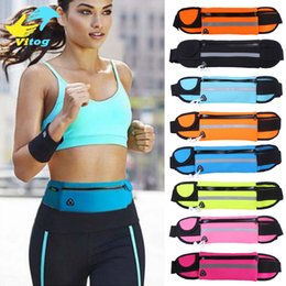 Phone case for gym online shopping - Gym Waist Bag Waterproof Sport Outdoor Fashion Belt Universal Phone Case Pouch For Samsung S6 edge S8 Plus iphone plus