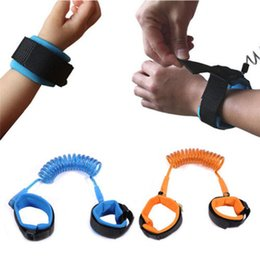 2018 baby harness reins Toddler Kid Baby Safety Anti-lost Strap Link Harness Child Wrist Band Belt Reins 1.5M .2M.2.5M 3 Colors NAA016 baby harness reins on sale