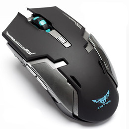 $enCountryForm.capitalKeyWord Australia - Wholesale- Hongsund laptop wireless gaming mouse built-in rechargeable silent mute button computer mouse unlimited