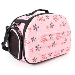 $enCountryForm.capitalKeyWord NZ - Puppy Pet Travel Bag Dog Carrier Folding Breathable One Shoulder Out Bags Portable Luggage Backpack Cat Pack Pet Zipper Carriers Bag-Pink