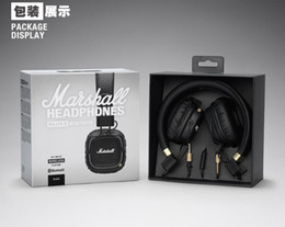 China Marshall Major II 2.0 Bluetooth Wireless Headphones DJ Headphone Deep Bass Noise Isolating Headset Earphone for iPhone Samsung Smart Phone cheap iphone ii suppliers