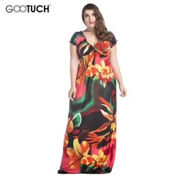 Discount Plus Size Butterfly Maxi Dresses | 2017 Plus Size Maxi ...