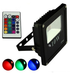 Discount Outdoor Plug Flood Light RGB Led Flood Lights Outdoor Lighting 10w  20w 30w 50w Led