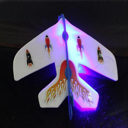 $enCountryForm.capitalKeyWord Australia - LED Luminous Ejection Plane Amazing FlashToys LED Arrow Helicopter Toys LED Plane Dolls Flicker Flying Plane Children's Toys Christmas Gifts