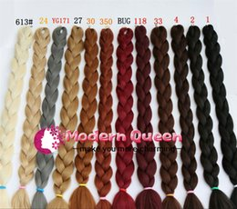 $enCountryForm.capitalKeyWord Canada - Free Shipping Cheap 82''165g Kanekalon Jumbo Braiding Cheap Synthetic Jumbo Braid Hair Extensions Fasle Hair Bulk Box Braiding Hair