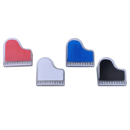 magnet notes UK - Plastic Music Stand Sheet Book Page Clip Folder with Magnet as Fridge Notes Mark Paste Grand Piano Keyboard Shaped Set of 4