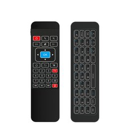 GaminG android box online shopping - Backlight G Fly Air Mouse i85 Wireless Mini Gaming Keyboard Remote Control Gamepad for Android TV Box