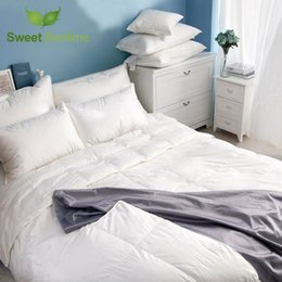discount luxury down comforters luxury goose down comforter core feather blanket twin king size quilts inner