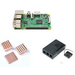Kit Code Canada - Cooling kit for Raspberry Pi 3 Model B with 1GB RAM and 64 Bit CPU free shipping