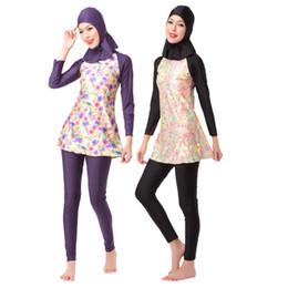 bcbfec6686 Muslimah Swim Hajib Muslim Swimsuit Plus Size Islamic Swim Wear Full Cover  Long Modest Swimwear for Muslim Girl Women